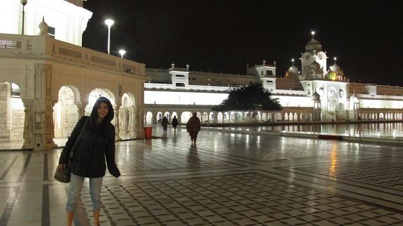 Visiting the Golden Temple