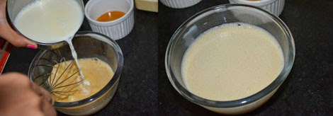 how to prepare caramel custard