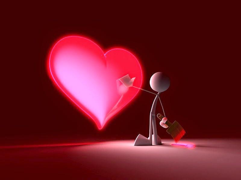 corazón rojo amor