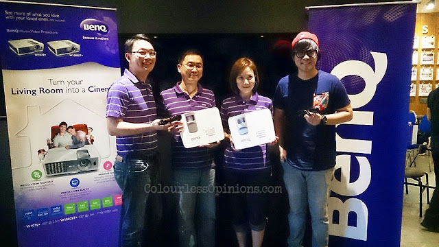 BenQ Malaysia W1070+ W1080ST+ launch