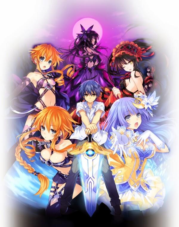 [ Info-Anime ] Anime Movie Date A Live Akan Tayang Musim Panas Nanti