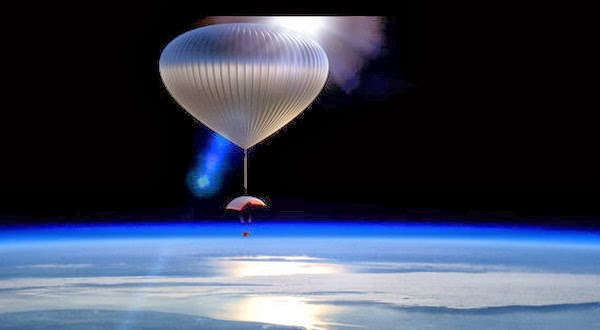 Balon Udara ini Mampu Jelajah Luar Angkasa