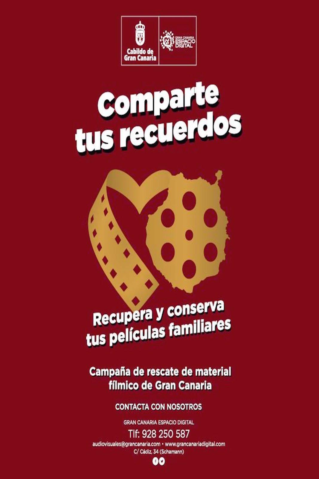 Campaña de Recuparación de Material Fílmico de Gran Canaria