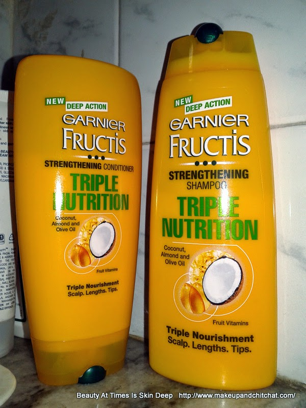 Garnier Fructis Triple Nutrition Challenge