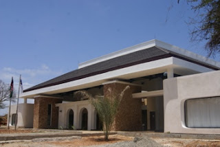 New Terminal Exterior Manda Airport, Lamu