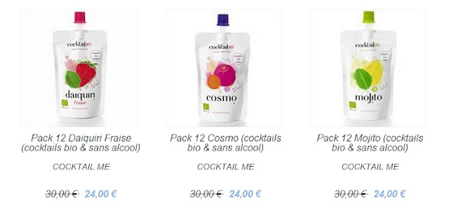 Idée cadeau Cocktail Me + promotions