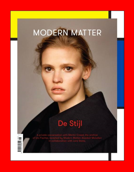 Lara Stone by Alasdair McLellan for Modern Matter Magazine