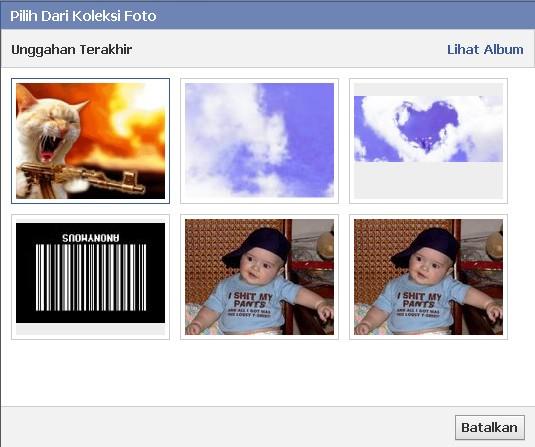 Membuat Gambar Sampul Facebook Bergerak Animated
