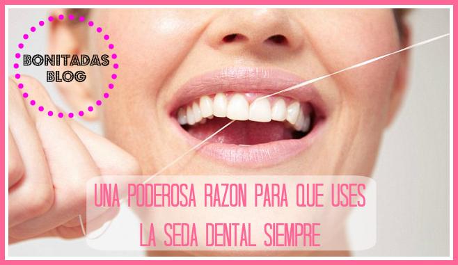 Una poderosa raz n para que uses la seda dental siempre - Sedas para unas ...