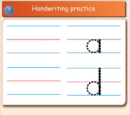 Handwriting Template