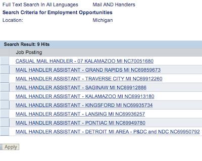 Mail Handler Job Description Resume