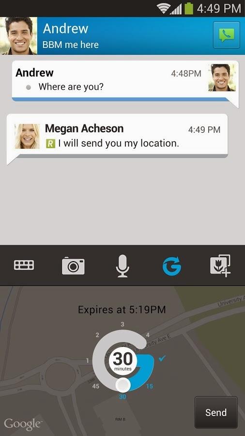 Aplikasi Android Blackberry Messenger (BBM) Versi Terbaru Asik - 4