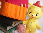 Chocalho Urso amarelo
