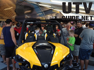 Can-Am Maverick 1000R Unveiled at the show