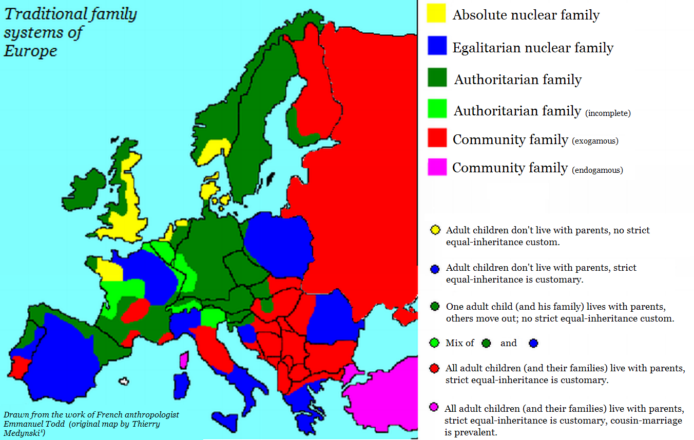 Who\'s who in Europe - East and West.... (How European is Russia...?)