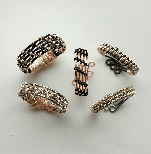 Wire Ring Weaving