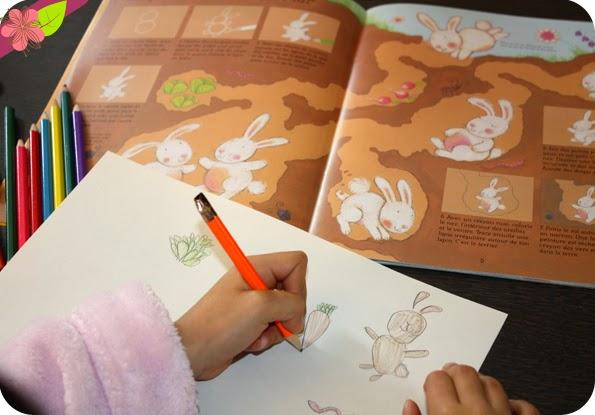 J'apprends à dessiner : Les animaux - éditions Usborne