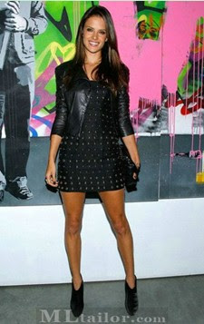 Tendencias: Cazadora de cuero con vestidos. Las celebrities se han apuntado. ¿Te animas?