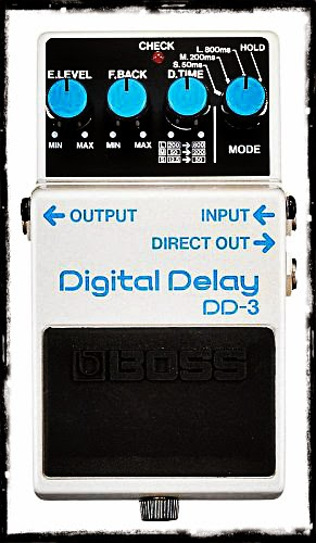 Cheap Boss DD3 Digital Delay Guitar Pedal