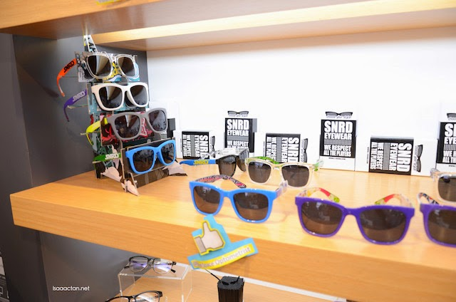 Unique, loud and bright, from SNRD Eyewear