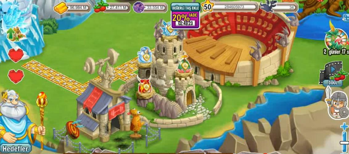 Sizlere Dragon CİTY Yukardaki Facemden Görüntü verdimDragon City