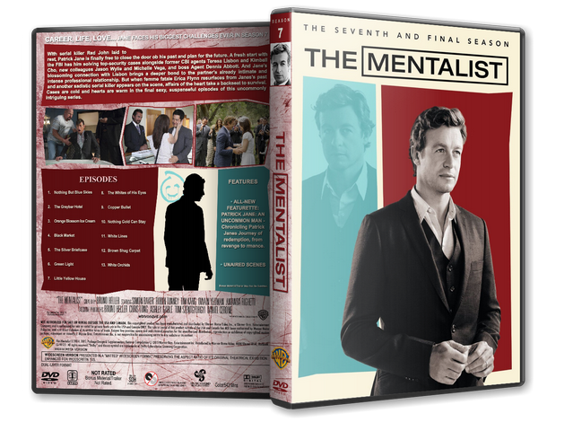 Capa DVD The Mentalist The Seventh And Final Season