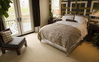 Dormitorio combinado en metal y madera