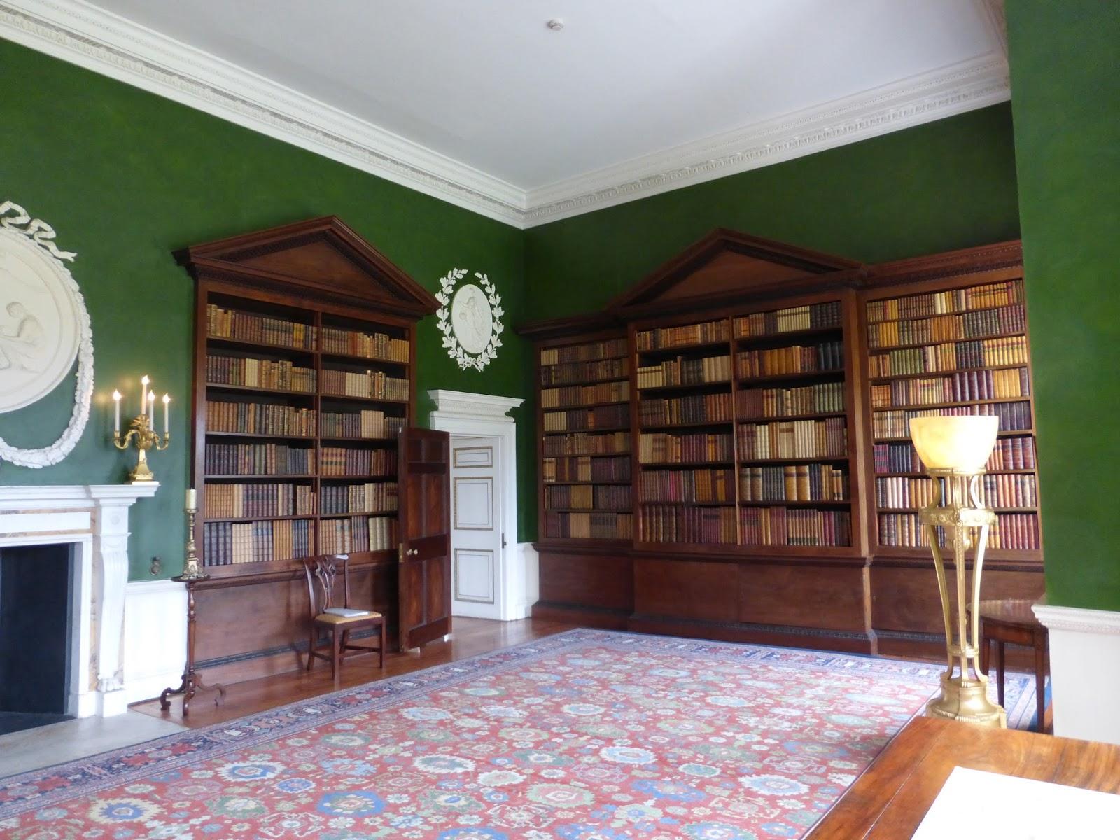 Danson House Library Room