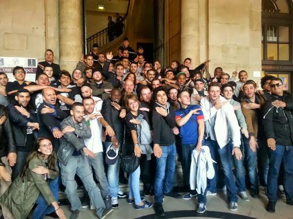 Quenelle's TGI+de+Paris+-+quenelle