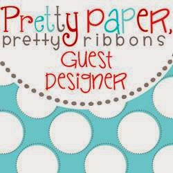 I was a Pretty Paper, Pretty ribbons Guess Designer