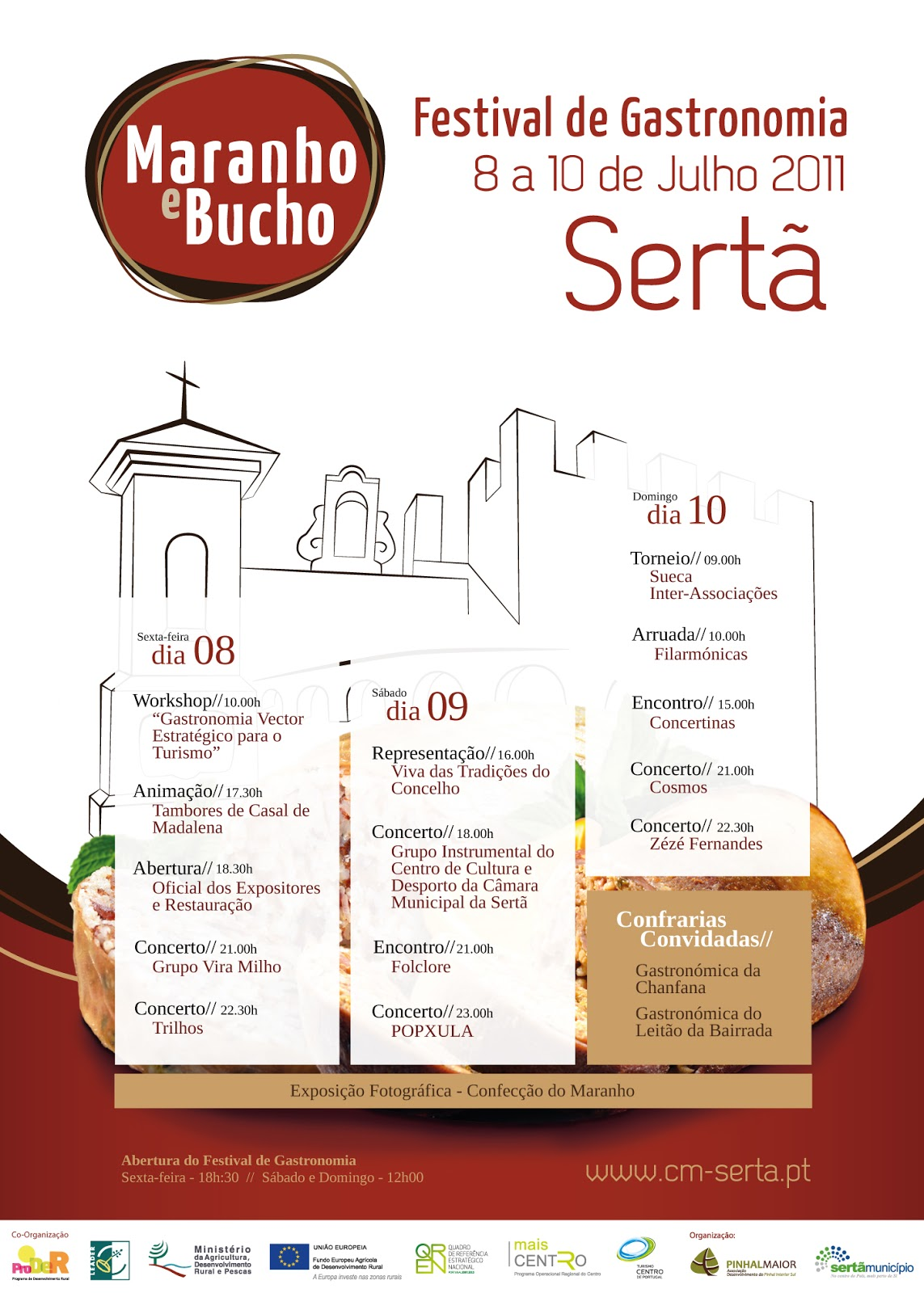 Festival Gastronomia Sertã 2013 - Maranho e Bucho