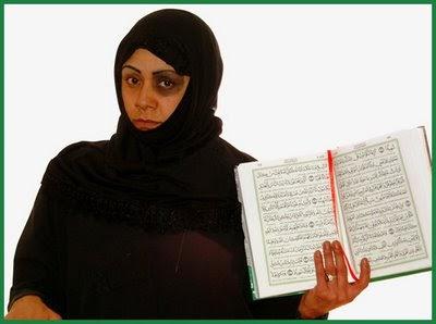 Muslim woman beaten