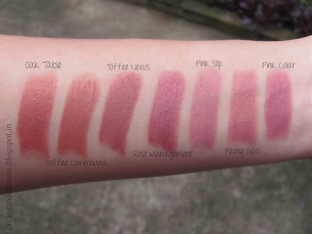 Lakme 9-to-5 Lipsticks