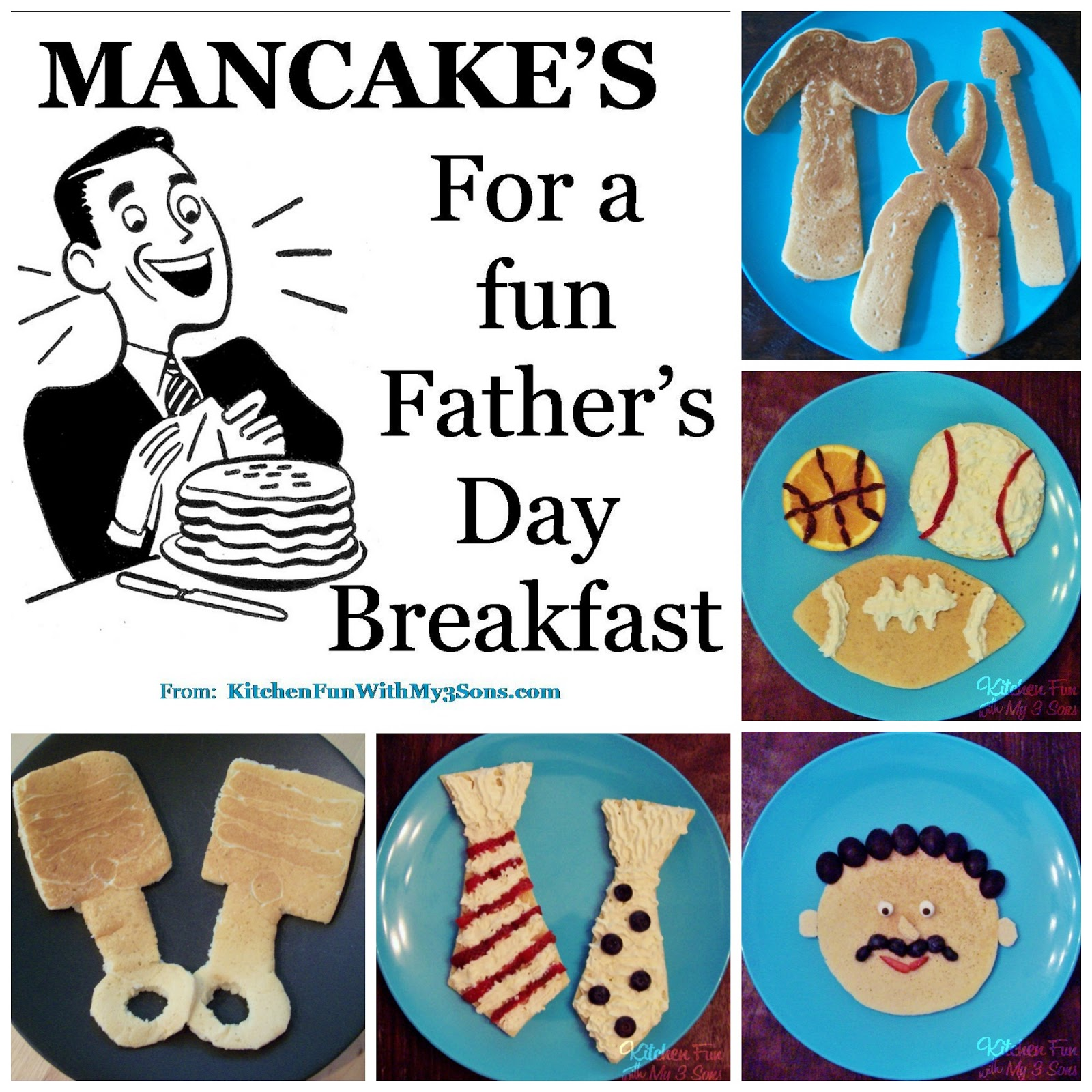 Our 2012 Mancakes for Father's Day Breakfast! - Kitchen ...