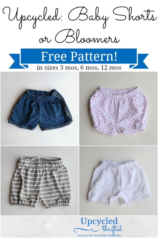 Free Baby Bloomers and Shorts Pattern