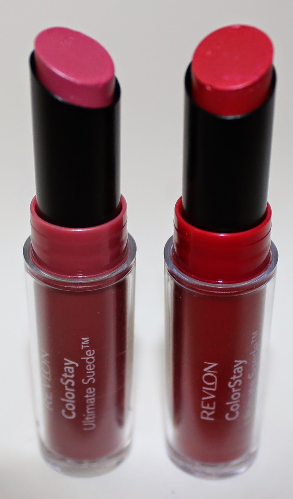 Revlon ColorStay Ultimate Suede Lipstick in Preview & Couture