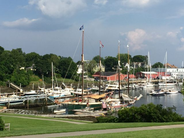 A Positive Outlook Quot Row By Row Ing Quot In Maine Part 2