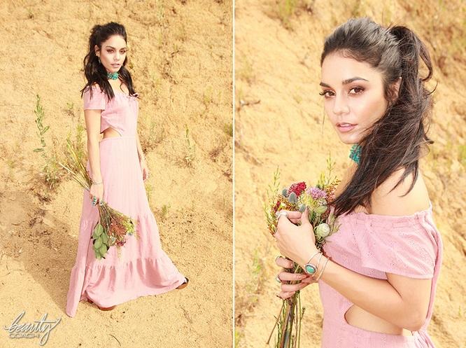 Vanessa Hudgens Boho-chic 2015