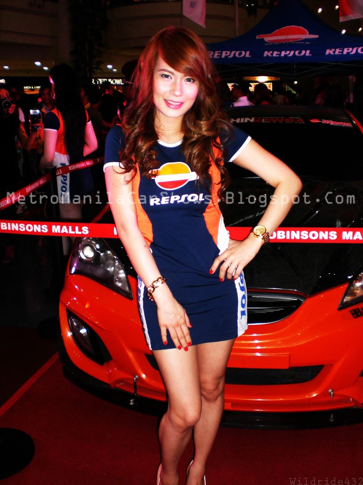 Metro Manila Car Shows: Featured Model: Ms. Gwyneth Ceridwen