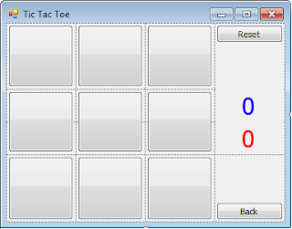 create Tic Tac Toe game