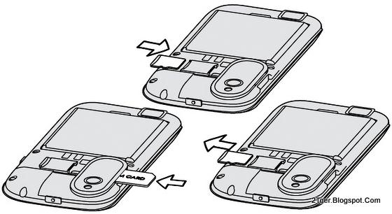 Insert SIM, Insert dan Remove microSD Storage Desire X