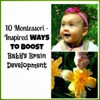 Montessori Inspired Ways to Boost Baby Brain Development