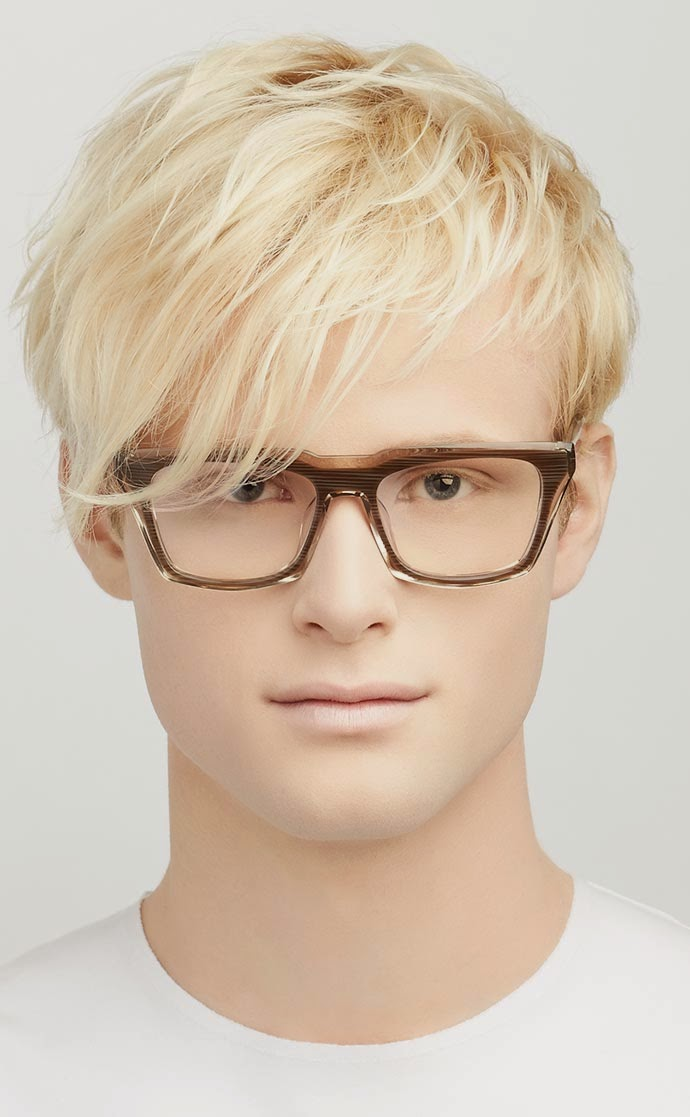 Blake Kuwahara glasses 2015: Eames
