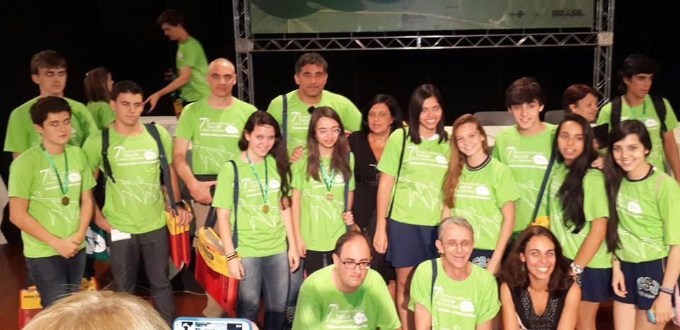 Alunos de todo o país se reuniram na FioCruz para receber a premiação