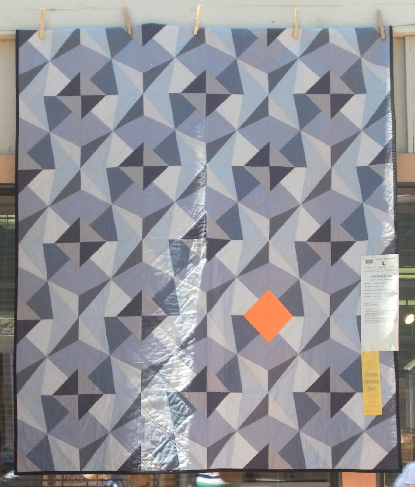 Pmqg At Sisters Outdoor Quilt Show 2013 Portland Modern Quilt Guild