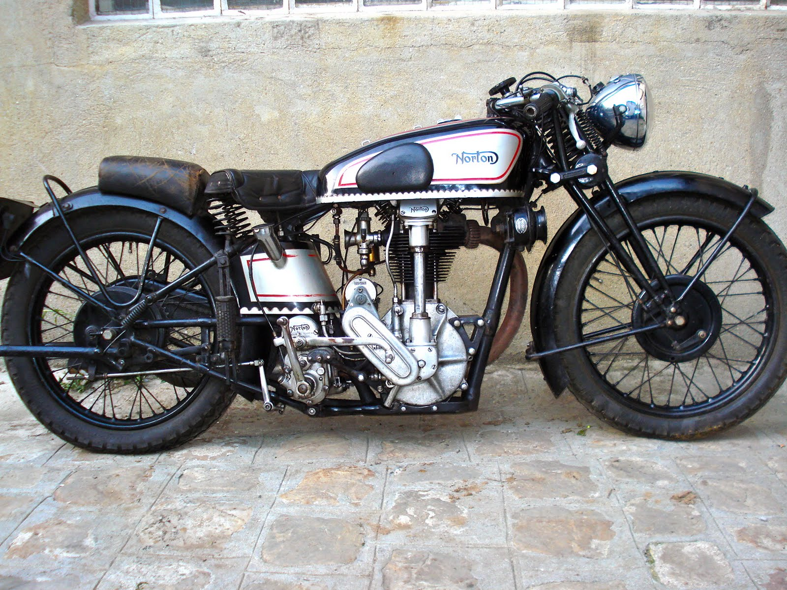 Vintage Norton Motorcycles Tony 39 S 1930 Model Cs1 Norton