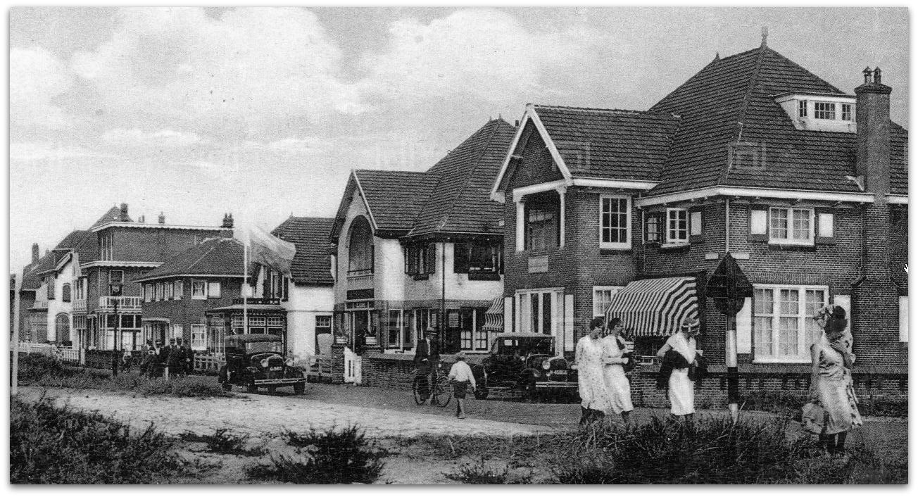Noordwijkse huizen de kleuters van huis aan zee - Scherm huis ...