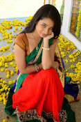 Santoshi sharma half saree pics-thumbnail-8