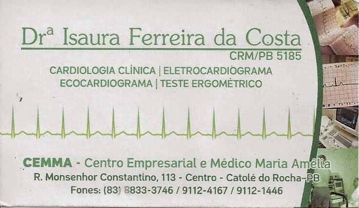 DRª ISAURA FERREIRA DA COSTA