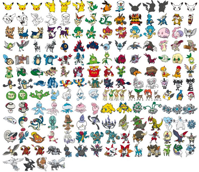 Pokemon Cover Collection Selectable Pokemon As of 25 Nov 2011 Softbank